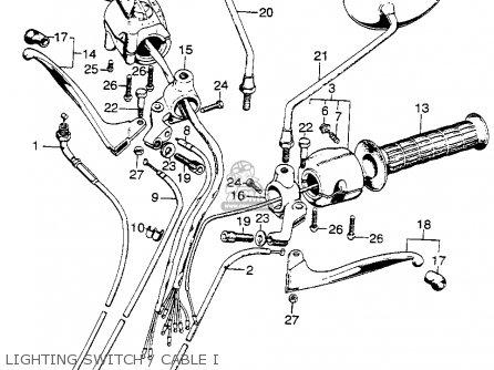 45450440405 (45450-440-p00) Cable Comp,fr Brk Honda