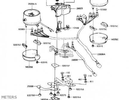 Kawasaki Kz1000 Wiring Diagram 1981 Police Special