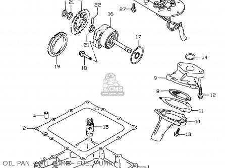 Gear,oil Pump Drive Gsx1300r Hayabusa 1999 (x) Usa (e03