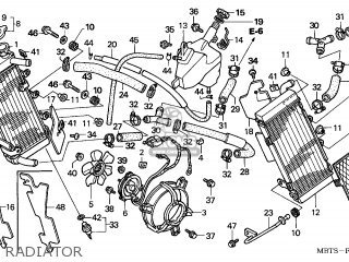 MOTOR ASSY,FAN for XL1000V VARADERO 2003 (3) EUROPEAN