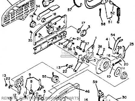 Yamaha 703 Remote Control Parts Yamaha Outboard Parts