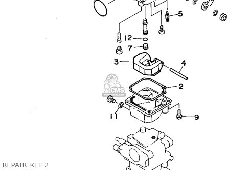 Carburetor Repair Kit F50/t50tlry 2000 62YW009300