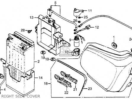 1981 Honda Cm400e Wiring Diagram 1981 Honda CM400 Value