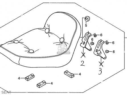STAY,L.RR.SEAT (JDM) for CA50G JAZZ JAPAN (11GS3GJ5