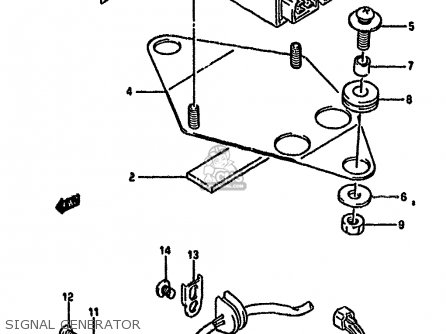 Ignitor Gsf400 Bandit 1991 (m) Usa (e03) 3290010D00