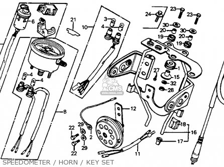 Honda Atc 185s Carburetor Diagram, Honda, Free Engine