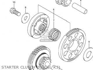 Gear,starter Idle No.2 Gsx1300r Hayabusa 1999 (x) Usa (e03