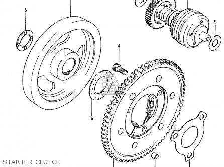 Pinion Gear Assembly,starter Gr650 Tempter 1983 (d) Usa