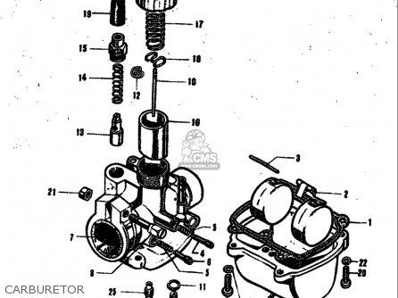 Suzuki 55 M31 1968 (usa) parts list partsmanual partsfiche