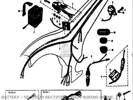 Suzuki 80k10 K11 K15 1968 (usa) parts list partsmanual