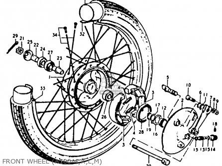 Suzuki A100 1974 (l) United Kingdom (e02) parts list