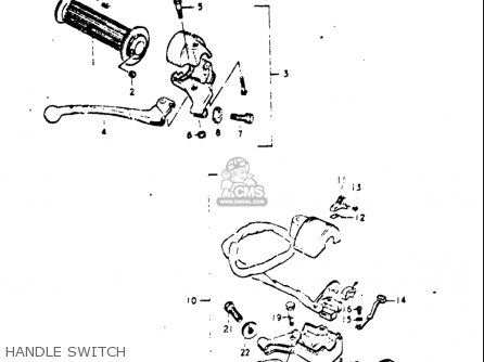 Suzuki A100 1976 1977 (A) (B) USA (E03) parts lists and