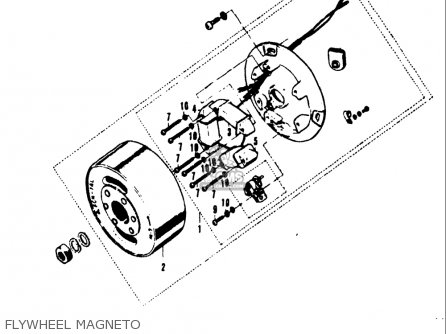 Suzuki A100 As100 Ac100 1969 Usa (e03) parts list
