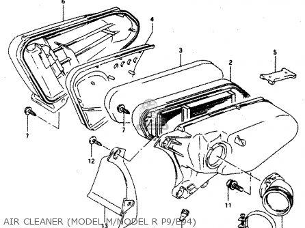 Suzuki Ad50 1991 (m) Thailand (e14) parts list partsmanual