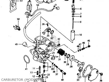 Suzuki Ad50 1994 (r) Greece (e41) parts list partsmanual
