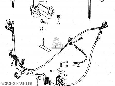 Suzuki AD50 1994 (R) GREECE (E41) parts lists and schematics