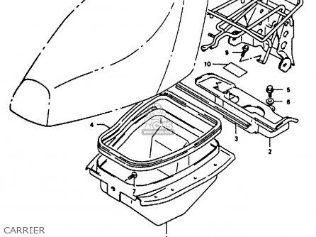Suzuki AE50 1992 (N) parts lists and schematics