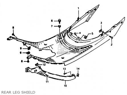 Suzuki AE50 1992 (N) parts lists and schematics
