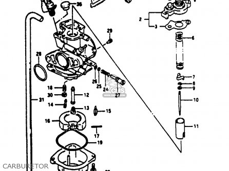 Suzuki Ae50 1993 (kp) parts list partsmanual partsfiche