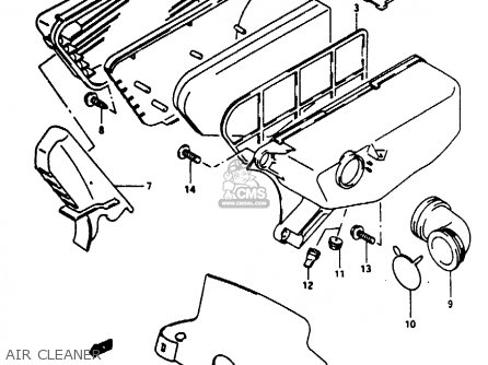 Suzuki Ae50 1994 (kr) parts list partsmanual partsfiche