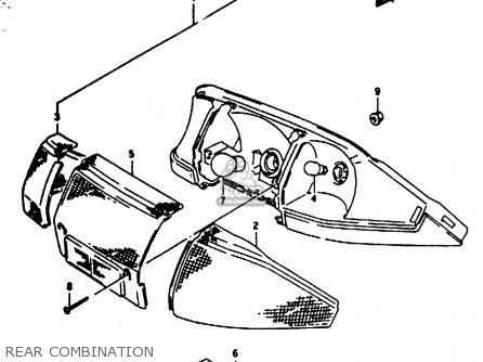 Suzuki Ae50 1996 (t) parts list partsmanual partsfiche