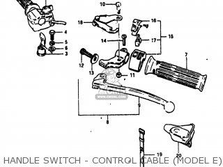 Suzuki ALT125 1983 (D) USA (E03) parts lists and schematics