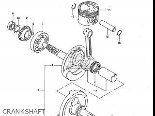 Suzuki ALT125 1986 (G) USA (E03) parts lists and schematics
