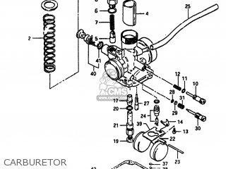 Suzuki Alt185 1985 (f) Usa (e03) parts list partsmanual