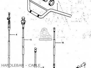 Suzuki ALT185 1985 (F) USA (E03) parts lists and schematics