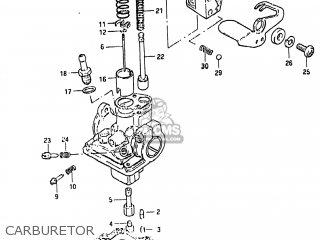 Suzuki Alt50 1984 (e) Usa (e03) parts list partsmanual