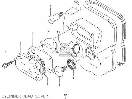 Suzuki AN125 1998 (W) (E02 E04 E18 E22 E34) parts lists