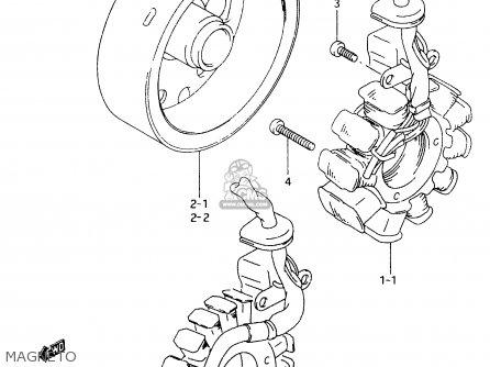 Suzuki An125 1998 (w) (e02 E04 E18 E22 E34) parts list