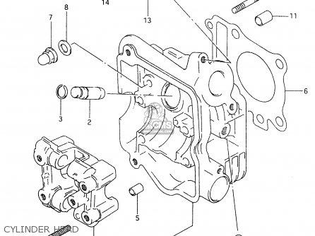 Suzuki An125 1999 (x) (e02 E04 E18 E22 E34) parts list