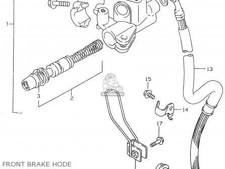 Suzuki AN125 2000 (Y) parts lists and schematics