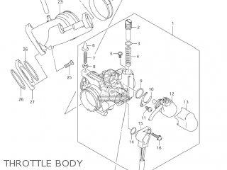 Suzuki AN400 BURGMAN 2003 (K3) USA (E03) parts lists and