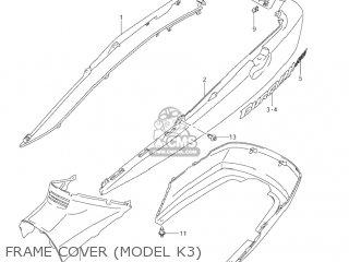 Suzuki AN400 BURGMAN 2005 (K5) USA (E03) parts lists and