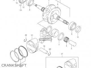 Suzuki AN400 BURGMAN 2006 (K6) USA (E03) parts lists and