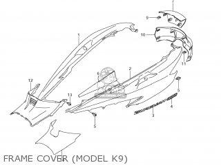 Suzuki AN400 BURGMAN 2007 (K7) USA (E03) parts lists and
