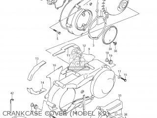 Suzuki AN400 BURGMAN 2008 (K8) USA (E03) parts lists and