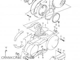 Suzuki AN400AZA BURGMAN 2012 (L2) USA (E03) parts lists