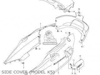 Suzuki AN650 BURGMAN 2005 (K5) USA (E03) parts lists and