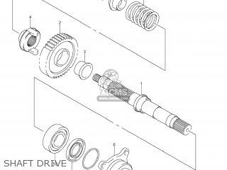 Suzuki AN650 BURGMAN 2008 (K8) USA (E03) parts lists and
