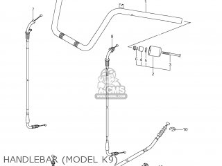 Suzuki AN650 BURGMAN 2009 (K9) USA (E03) parts lists and