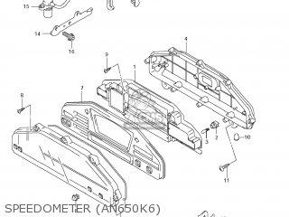 Suzuki AN650A BURGMAN 2008 (K8) USA (E03) parts lists and