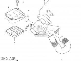 Suzuki AN650A BURGMAN 2012 (L2) USA (E03) parts lists and