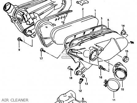 Suzuki AP50 1994 (R) SPAIN (E53) parts lists and schematics