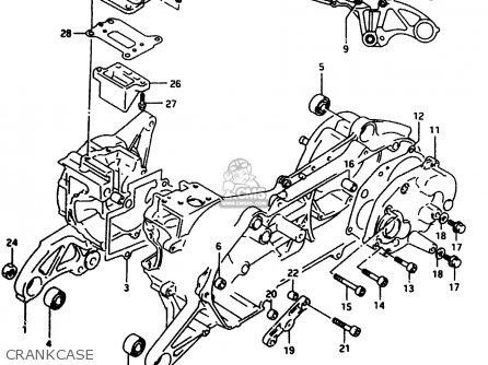Suzuki Ap50 1996 (r7) parts list partsmanual partsfiche