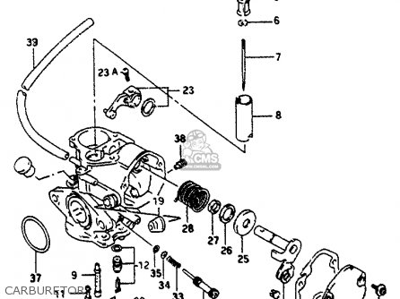 Suzuki AP50 1996 (T) parts lists and schematics