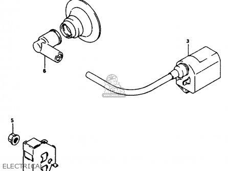 Suzuki AP50 1996 (T) parts lists and schematics