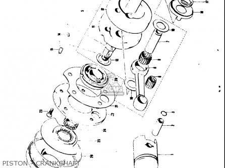 Suzuki AS50 1971 (R) USA (E03) parts lists and schematics